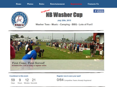 nb washer cup washer toss